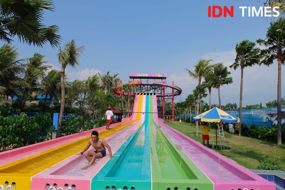 Suasana Hawai Waterpark Malang. (IDN Times/Reza Iqbal)