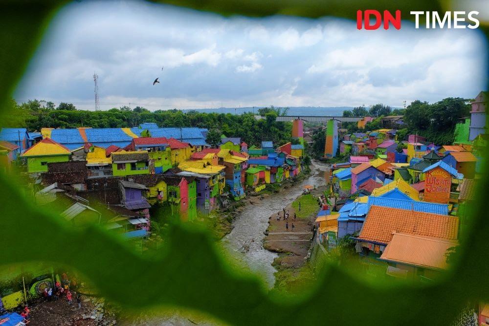Suasana Kampung Warna-Warni Jodipan. (IDN Times/Reza Iqbal)